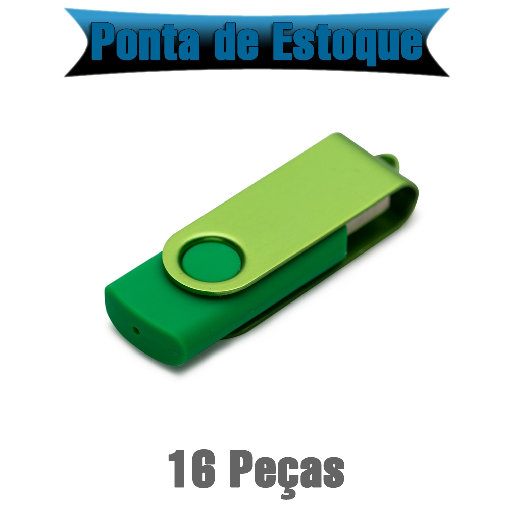 Pen Drive SM Giratorio Metal 4GB